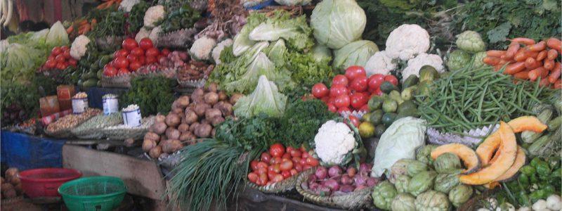 vegetables Madagascar market